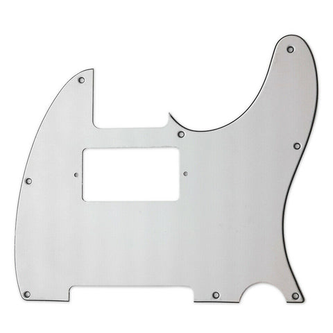 American Standard Tele White Finish 8-Screw Humbucker Route