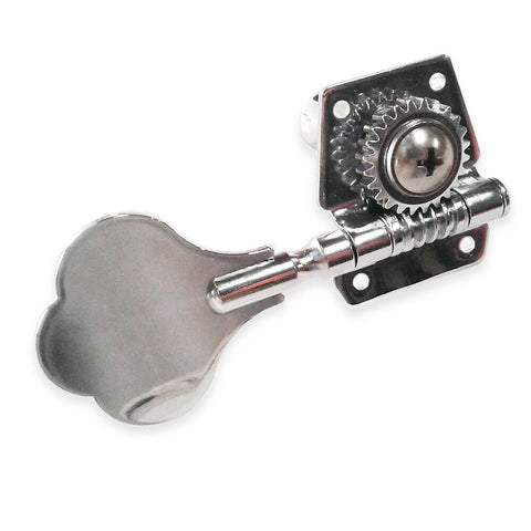 Open Frame Clover Bass Tuner Tuning Peg Chrome