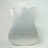 Eden® Premier Series Alder Tele Guitar Body Metallic Silver Flake