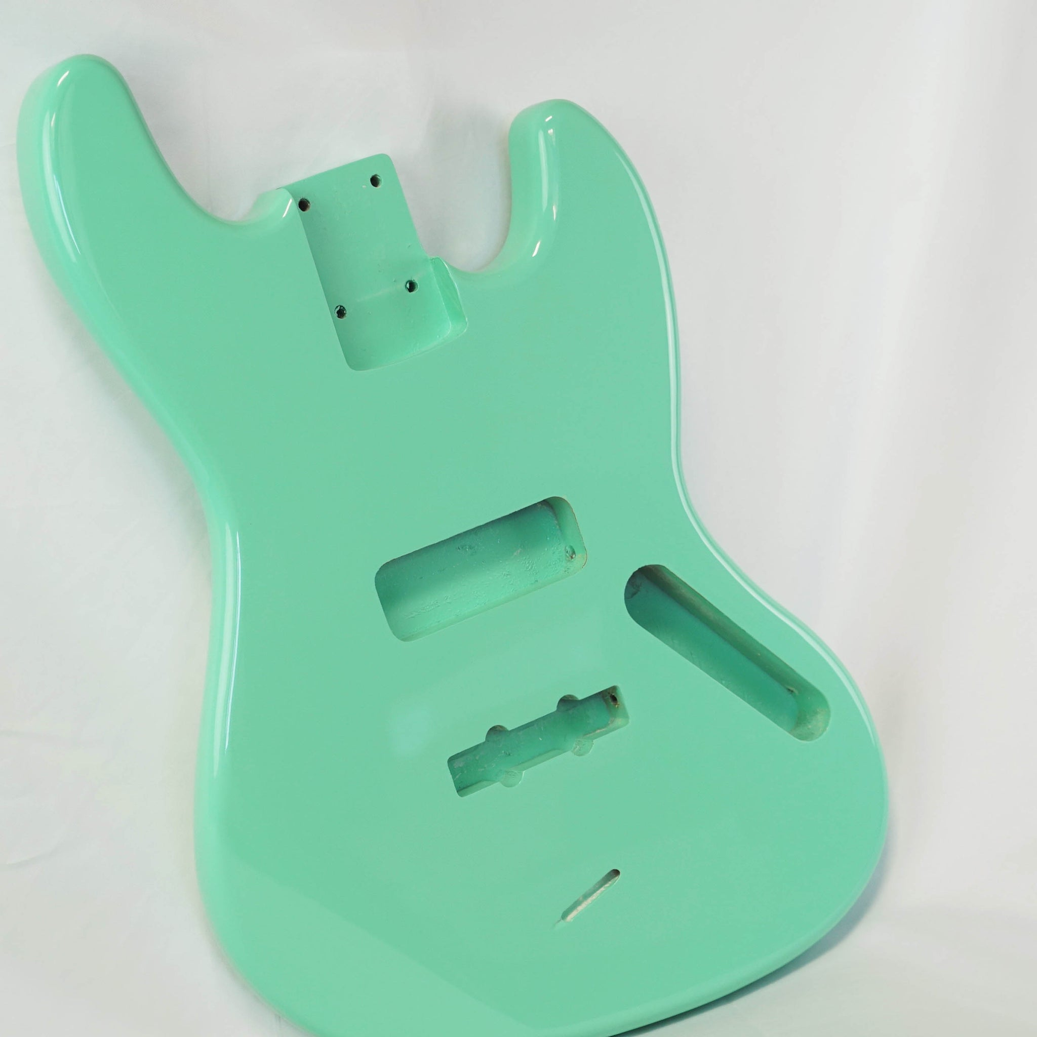 Premier Series DIY Alder JB Bass Body Seafoam Green