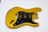 Eden® Premier Series DIY Alder Strat Body HSH Guitar Metallic Gold