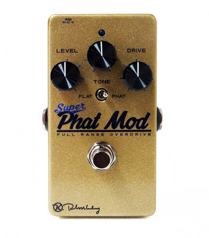 Keeley Super Phat Mod Full Range Transparent Overdrive Pedal
