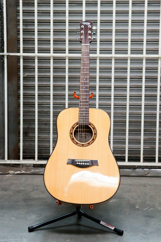 "41"" Beginner Dreadnought Acoustic Guitar With Laminated Spruce Top Model No. D-5"