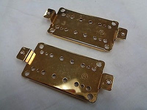 Humbucker Pickup Bass Plates 50mm and 52mm PP20 Gold