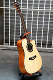 "41"" Beginner Dreadnought Acoustic Guitar With Solid Spruce Top Model No D-51C"