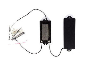 MINGS Closed Cover 5 String P Bass Pickup Set Black #PBC5