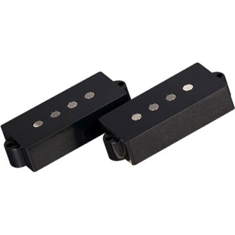 Artec Alnico 5 P Bass Bridge Pickup Set 4-String Black