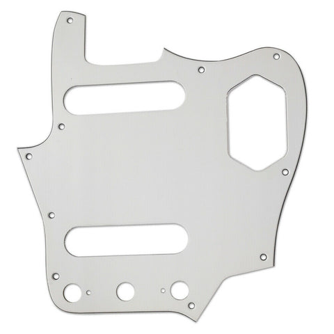 American Vintage Series Jaguar Pickguard White 10-Screw