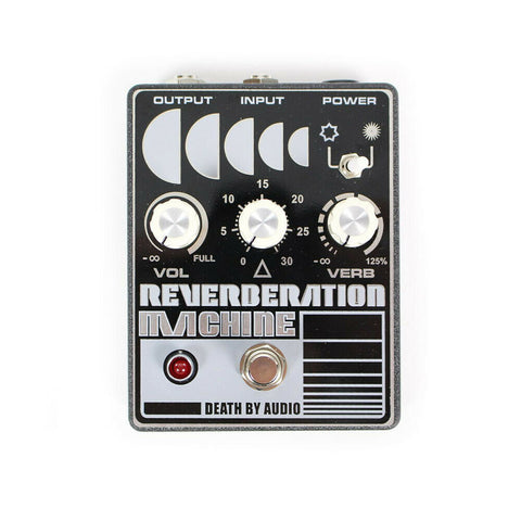Death by Audio Reverberation Machine Reverb Guitar Effects Pedal