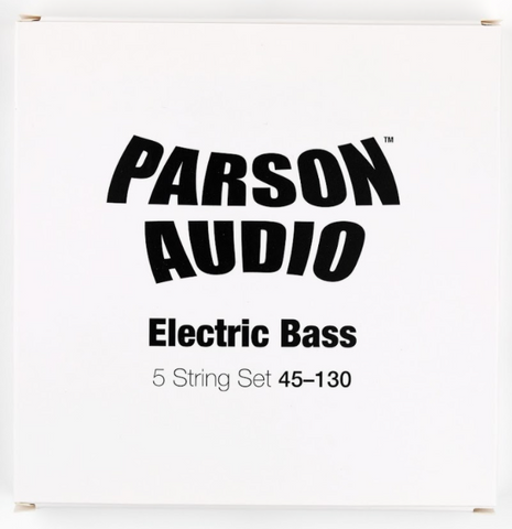 Parson Audio Electric Bass Strings 5 String 45-130