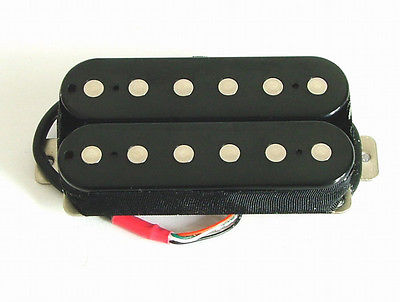 Artec Alnico 5 Guitar Hot Humbucker Neck Pickup Black