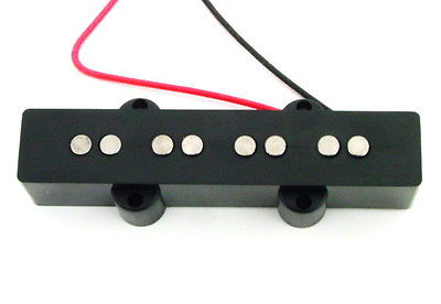 Artec Alnico 5 Jazz Bass Bridge Pickup 4-String Black