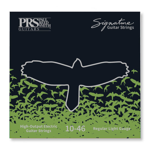 PRS Signature Electric Guitar Strings - .010- .046 Light (6 Pack)