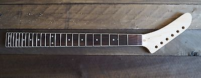 EDEN Reverse Banana Maple/Rosewood Guitar Neck Binding 24 Fret Floyd Rose Nut