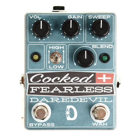 Daredevil Pedals Cocked & Fearless Distortion
