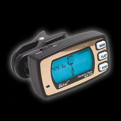 Belcat Mini Clip Digital Chromatic Guitar Bass Tuner