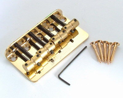 Wilkinson Lic WBBC Bass Bridge Brass Saddle Gold