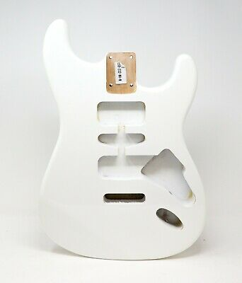 Eden® Premier Series DIY Alder Tremolo Strat Body Olympic White