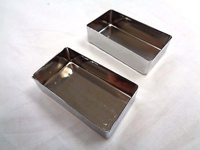 Chrome Pickup Covers for Electric Guitar