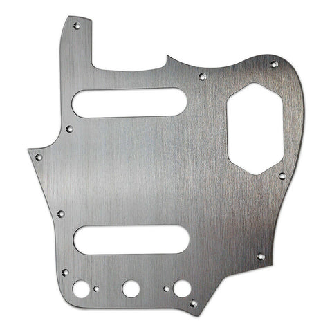 American Vintage Series Jaguar Pickguard Aluminum Chrome 10-Screw