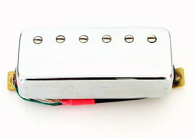 Artec Mini Humbucker Les Paul Neck Pickup Chrome