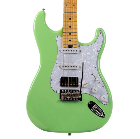 Allen Eden Custom Shop Sepulveda Guitar with Maple Neck Seafoam Green Finish