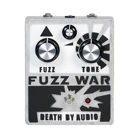 Death by Audio Fuzz War Guitar Effects Pedal