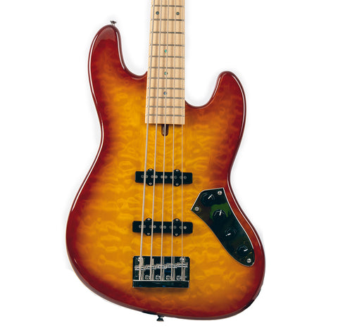 Allen Eden© Disciple 5 Deluxe Bass Quilted Maple