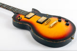 Allen Eden Southbound V2 3-Tone Sunburst with Abalone Binding and Inlays