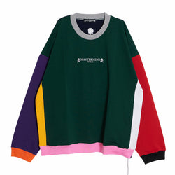 MULTI COLORED CREWNECK/BOXY