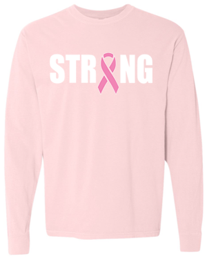 STRONG PINK LONG SLEEVE T-SHIRT