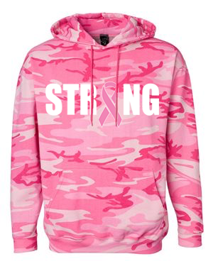 KARLA STRONG White & Pink Camo