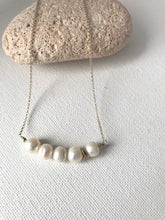 Load image into Gallery viewer, Pearl and Sterling Silver Necklace - alisonwalshjewellery