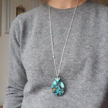 Load image into Gallery viewer, Ocean Jasper gemstone Necklace
