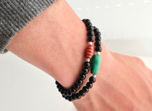Load image into Gallery viewer, mens unisex bracelet made in ireland by alison walsh