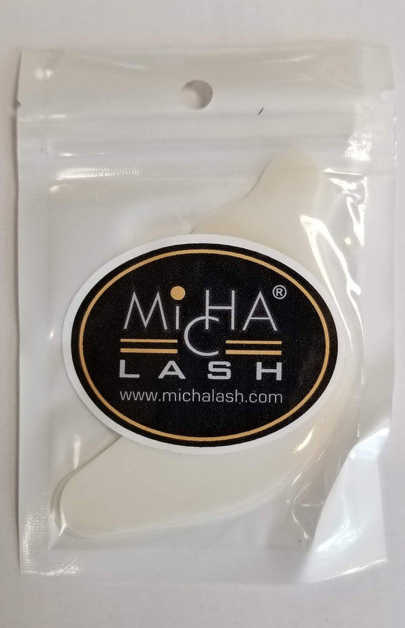 Micha - Eyelash Extension White Silicone Pads