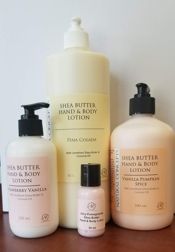 Natural Concepts - Shea Butter Hand & Body Lotion