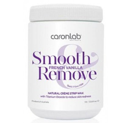 Caronlab Smooth & Remove French Vanilla Strip Wax
