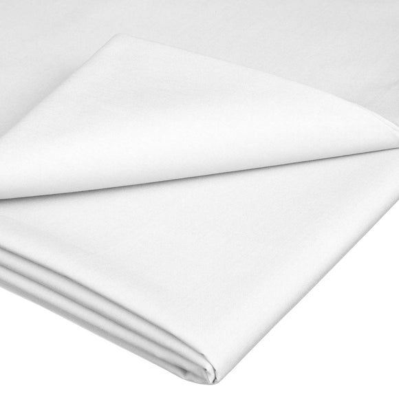 Flat Sheet - T300 60/40 White - Size 66'x90'