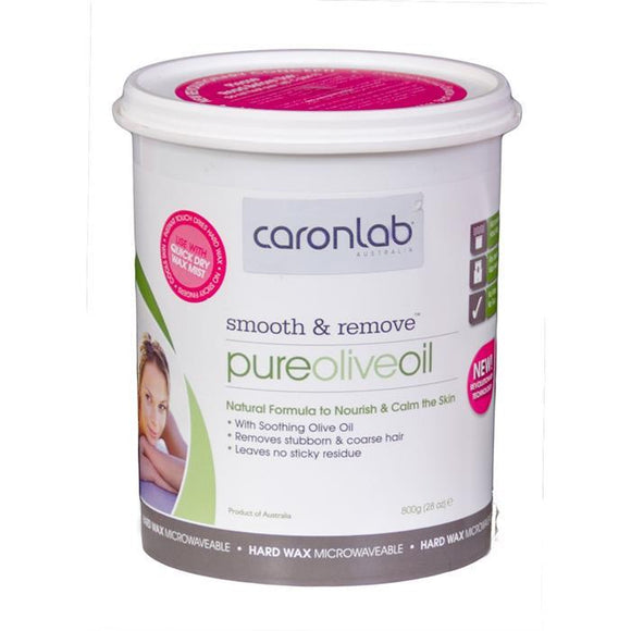 Caronlab Smooth & Remove Pure Olive Oil Hard Wax
