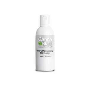 Cannablast Premium CBD Ultra-Moisturizing Skin Lotion 4oz 400mg