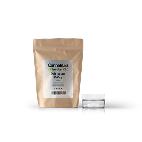 Cannablast Premium CBD Dab Isolate 1000mg
