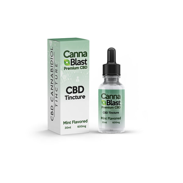 Cannablast Premium CBD Tinctures 30ml (Multiple Flavors & Strengths)