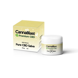 Cannablast Premium CBD Sweet Vanilla Salve 2oz 75mg