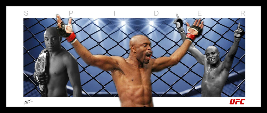 Anderson Silva 'The Spider' Wings Tribute