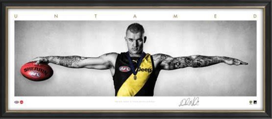 Dustin Dusty Martin AFL Framed Wings Tribute