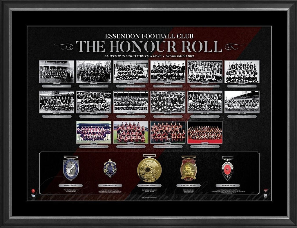 Essendon Bombers The Honour Roll Limited Edition