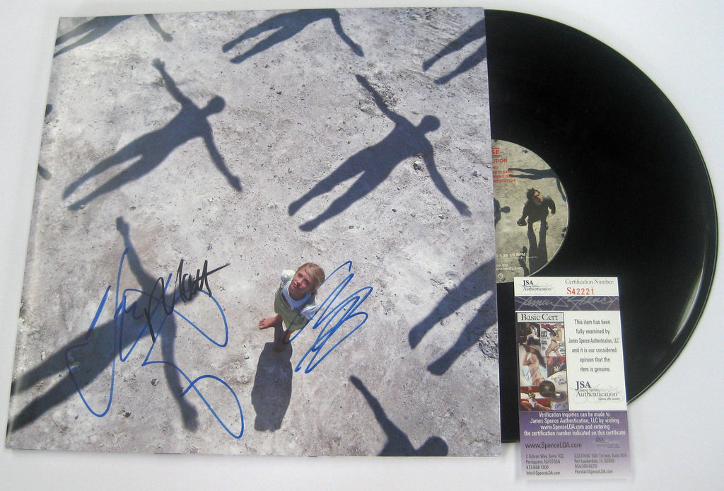 MUSE BAND SIGNED SIGNED VINYL JSA Authenticated