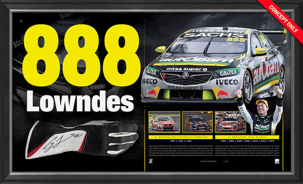 Craig Lowndes Retirement Range - Bulk Purchase - 888 Lowndes Glove + Racing Perfection