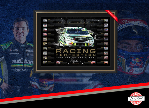 Craig Lowndes – Racing Perfection Signed & Framed Limited Edition + FREE BONUS
